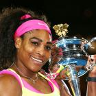 Serena makes history by clinching Australian Open title