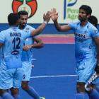 Jasjit's brace helps India seal semis spot
