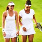 Wimbledon: Sania Mirza-Martina Hingis ease into 3rd round