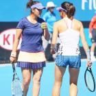 Now, Sania Mirza pairs with Hingis