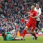 Skrtel gets three-match ban for stamp on De Gea