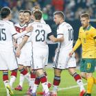 International friendlies: Podolski spares German blushes against Australia