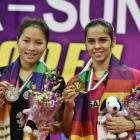 Saina, Srikanth lift India Open Super Series titles