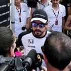 Alonso stays positive while Ferrari celebrate
