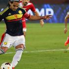 Football friendly: Falcao equals Colombia goals record