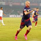 ISL: Hume 'tricks' again as ATK rout Pune 4-1 to storm into semis