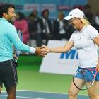 Leander is my favourite mixed doubles partner: Navratilova