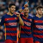 La Liga: Neymar double as Barca's rampant strikers sink Sociedad