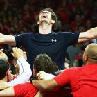 Murray beats Goffin to seal Davis Cup title for Britain