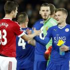 Premier League: Vardy breaks record as Leicester draw with United