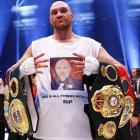 Heavyweight world champion Fury 'tests positive for cocaine'