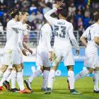 La Liga: Bale, Ronaldo score in Real's win over Eibar
