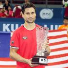 Malaysian Open: Ferrer beats Lopez to win title