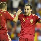 PHOTOS: Spain, Switzerland seal Euro 2016 berth with emphatic wins