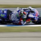 MotoGP: Lorenzo takes pole in dramatic qualifying in Japan
