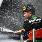 Force India's Perez hails 'special day' after Russian GP podium