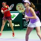 Sania-Martina ousted from Rogers Cup in quarters