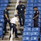 NYC teacher arrested for flying drone at US Open stadium