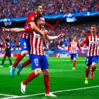 Champions League PIX: It's all Saul as Atletico go one up over Bayern
