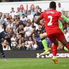 EPL PHOTOS: Tottenham's Rose denies Liverpool victory