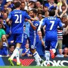 PHOTOS: Chelsea top after one-sided victory; United edge past Hull