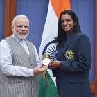 PHOTOS: PM Modi hosts 'inspirational' athletes