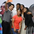 PHOTOS: Sindhu, Sakshi, Dipa, Gopichand presented swanky BMW