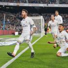 El Clasico PIX: Ramos strikes late equaliser as Real Madrid hold Barca