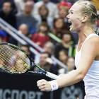 Fed Cup: Dutch shock Russia to semis; Czechs, Swiss through