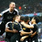 'Pressure now on rivals' as Leicester vow to stay calm in title hunt