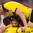 Dortmund reach 13th Cup semis amid ticket protest by Stuttgart fans