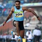 SAG PHOTOS: Gold pours in for India from athletics, shooting