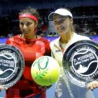 Streak continues! Mirza-Hingis win 40th match to lift St Petersburg title