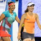 Rogers Cup: Sania-Martina storm into quarters; Bopanna ousted