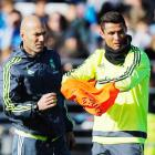 Zidane dismisses talk of rift with Ronaldo