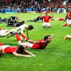 Euro 2016: Welsh underdogs revel in greatest night with Belgium win
