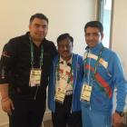 Indian contingent settling into the Olympic Village in Rio