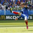 Euro 2016: France's Griezmann spreads wings with perfect timing
