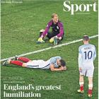 How the British media reacted to England's worst loss...