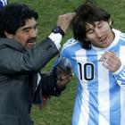 President, Maradona urge Messi to stay with Argentina