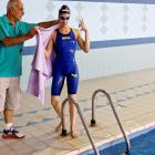 This Palestinian swimmer glides past obstacles to reach Rio Games