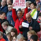 It's disappointed love, Wenger says about protests