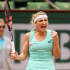 French Open PIX: Bacsinszky stops Bouchard to reach third round