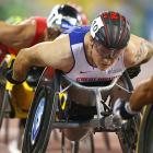 Wheelchair champion Weir makes history