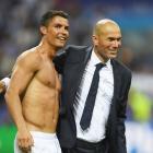 'Work work, work' is Real's mantra as Zidane praises subdued Ronaldo