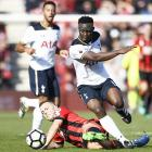 EPL: Spurs stay unbeaten but made to work hard by Bournemouth