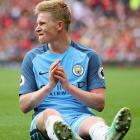 Guardiola hopeful of De Bruyne return in three weeks