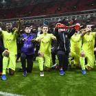 PHOTOS: Spurs exit Europa League, Lyon in seventh heaven