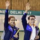 Jitu-Heena triumph in 10m mixed event at World Cup