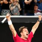Aus Open PHOTOS: Halep ousted; Wawrinka and Nishikori survive